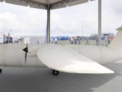 Este es el prototipo de THOR, el primer avión impreso en 3D.