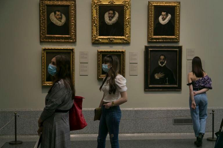 El Museo del Prado, el día de su reapertura, el pasado 6 de junio.