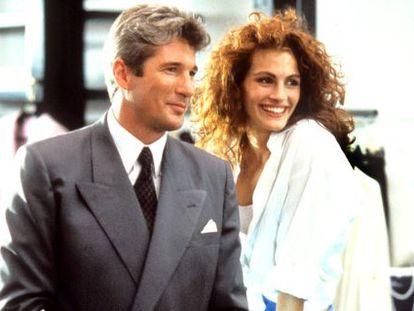 Richard Gere y Julia Roberts, en una escena de 'Pretty Woman'.
