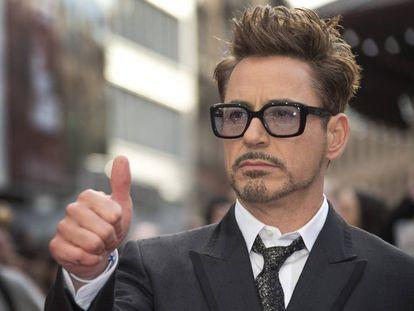 El actor Robert Downey Jr.