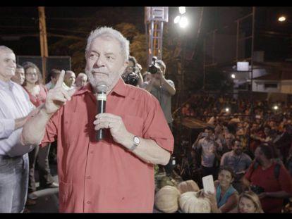 El expresidente brasileño Luiz Inácio Lula da Silva, en 'La democracia en peligro'. En vídeo, tráiler del documental.