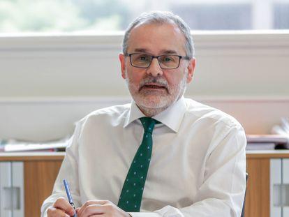 Ángel Pazos, rector de la Universidad de Cantabria.