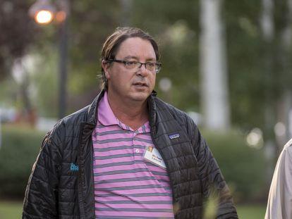 Michael Larson, presidente de Cascade y administrador de las inversiones del magnate, en una imagen de 2016.