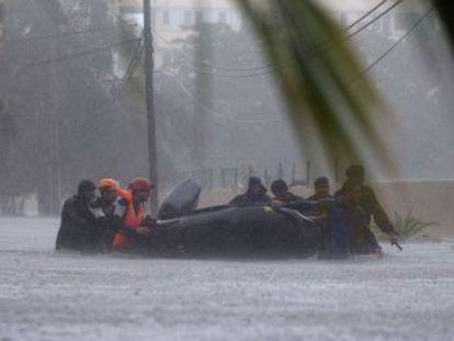 Las pérdidas ocasionadas en EE UU y el Caribe pueden llegar a los 100.000 millones de euros, según una agencia especializada en desastres naturales