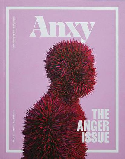 Portada de la revista 'Anxy' sobre la ira.