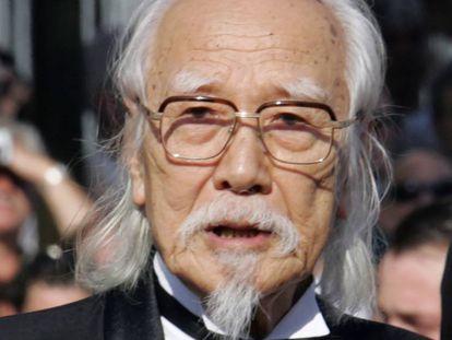 El director japonés Seijun Suzuki, en el festival de Cannes en 2005.
