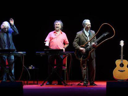 Les Luthiers en Madrid en septiembre de 2012.