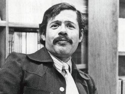 El escritor mexicano Parménides García Saldaña.