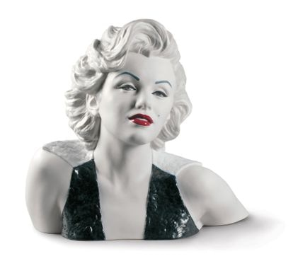Figura de porcelana de Marilyn Monroe de la compañía valenciana de cerámica Lladró.