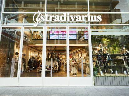 Una tienda de Stradivarius en Londres, en una imagen de archivo.