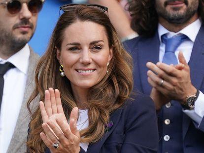 Kate Middleton, el viernes 2 de julio en Wembley.