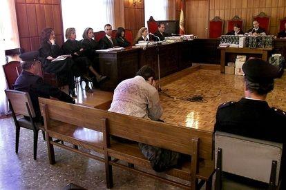 Joaquín Ferràndiz, durante el juicio por el asesinato de cinco mujeres, en 1999.