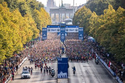 Pistoletazo de salida del maratón de Berlín de 2019