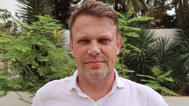 El coordinador de la Agencia de la ONU para los Refugiados (Acnur) en África occidental, Xavier Creach, en Dakar el pasado jueves.