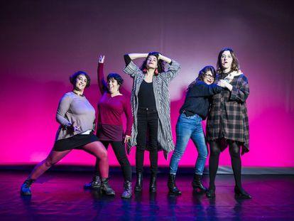 Humoristas feministas en el Teatro Luchana.
