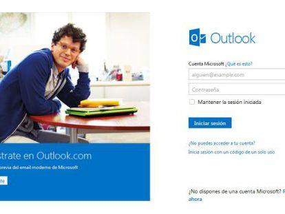 Puerta de entrada al nuevo Outlook