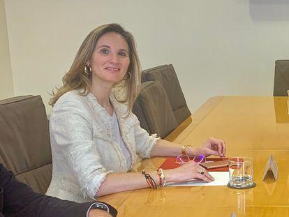 La consejera de Medio Ambiente, Paloma Martín, en una reunión el pasado 3 de marzo.