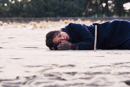 Kim Min-hee, en 'En la playa sola de noche'.