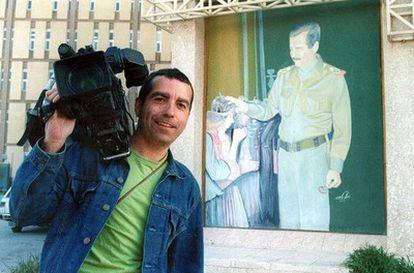 Imagen del cámara de Telecinco José Couso, en Bagdad.