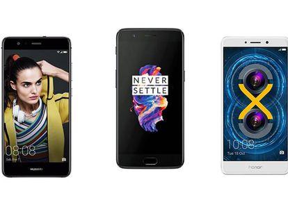 Los mejores móviles en relación calidad-precio de 2017