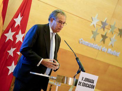 Enrique Ossorio, consejero de Educación y Juventud.