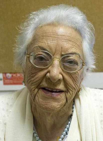 María Amelia López Soliño.
