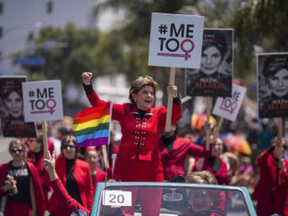 Gloria Allred fue violada a los 20 años y ha defendido a mujeres contra personajes tan potentados y mediáticos como Weinstein, Trump, O. J. Simpson o Eddie Murphy