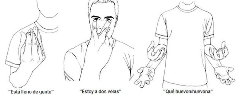Interpretación del periódico británico de los gestos españoles
