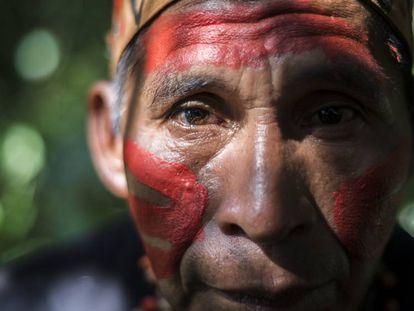 Indígena de Madre de Dios, Perú.