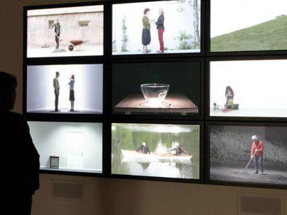 Capilla de las acciones frustradas y los gestos fútiles, de Bill Viola, en el Guggenheim de Bilbao.