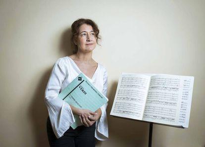 Adriana Tanus, directora de la Orquesta Joven de Madrid.