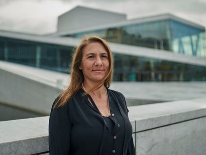 Entrevista a Hope Jahren en el Paseo de la Ópera de Oslo el pasado 9 de septiembre.