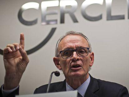 Antón Costas, presidente del Circulo de Economía de Barcelona.