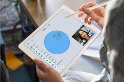 Modelo del iPad Pro.