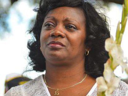 Berta Soler, la líder de las Damas de Blanco, en Miami