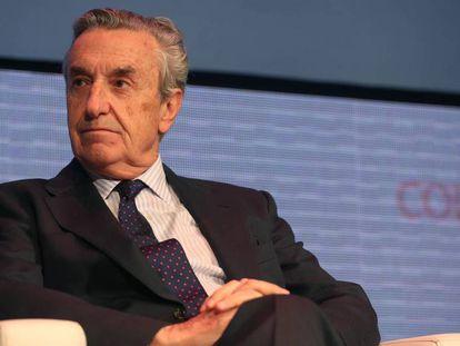El presidente de la Comisión Nacional del Mercado de Valores (CNMC), José María Marín Quemada