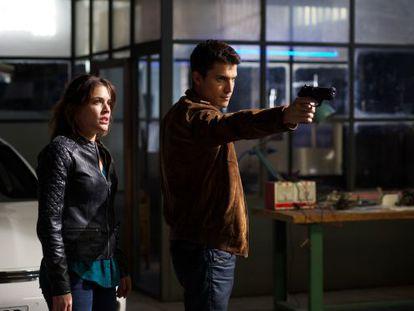 Adriana Ugarte y Álex González, en 'Combustión'.
