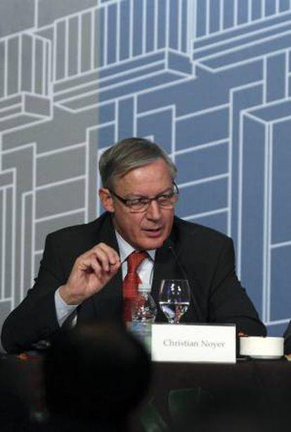 El gobernador del Banco de Francia, Christian Noyer. EFE/Archivo