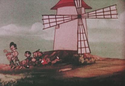 Una escena de 'Garbancito de la Mancha'.