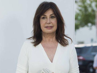 Carmen Martínez-Bordiú, en junio de 2017 en Madrid.