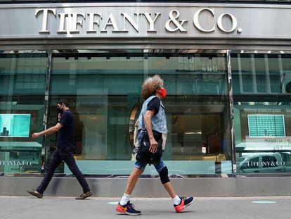 El escaparate de una tienda de Tiffany & Co. en Manhattan, Nueva York, el pasado septiembre.