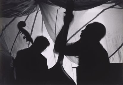 'Dos golpes de contrabajo, Lower East Side' (1972), de Beuford Smith.