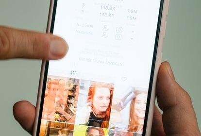 La app TikTok