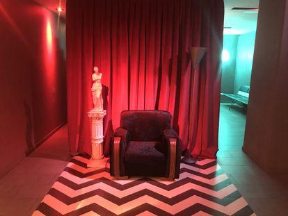 Una de las salas de los cines Golem de Madrid.