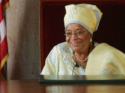 La presidenta de Liberia, Ellen Johnson Sirleaf, abandona el cargo tras 12 años en el poder.