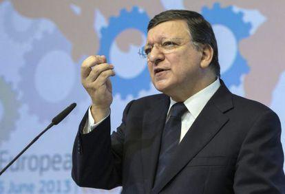 El presidente de la Comisión, Durão Barroso.