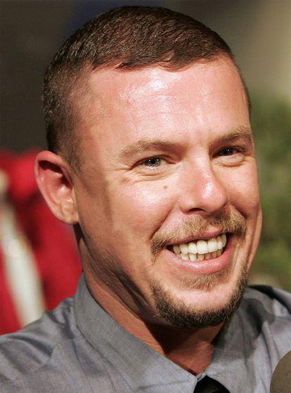 Alexander McQueen, en una imagen de archivo.