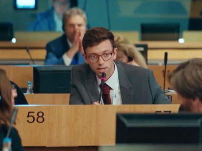Xavier Lacaille, en la serie francesa 'Parlement'.