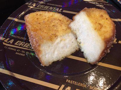 Torrija sin gluten de La oriental.