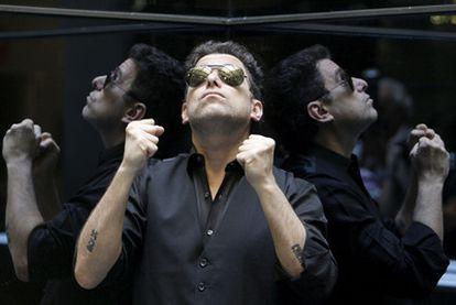 El músico argentino Andrés Calamaro, fotografiado esta semana en Madrid.
